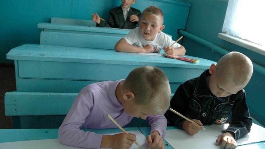Две малокомплектных школы закроют в Острогожском районе в течение трех лет