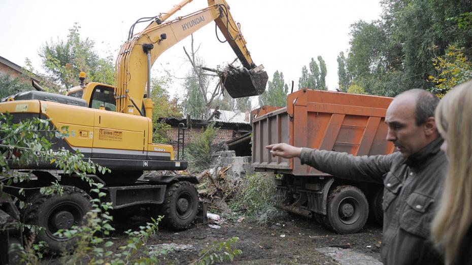 В Воронеже в декабре демонтируют 11 незаконно установленных гаражей