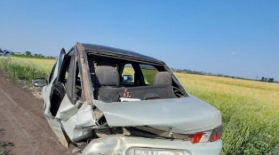 В Воронежской области в ДТП пострадали 2 ребенка