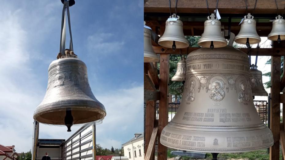 В белорусский монастырь доставили 12 отлитых в Воронеже колоколов