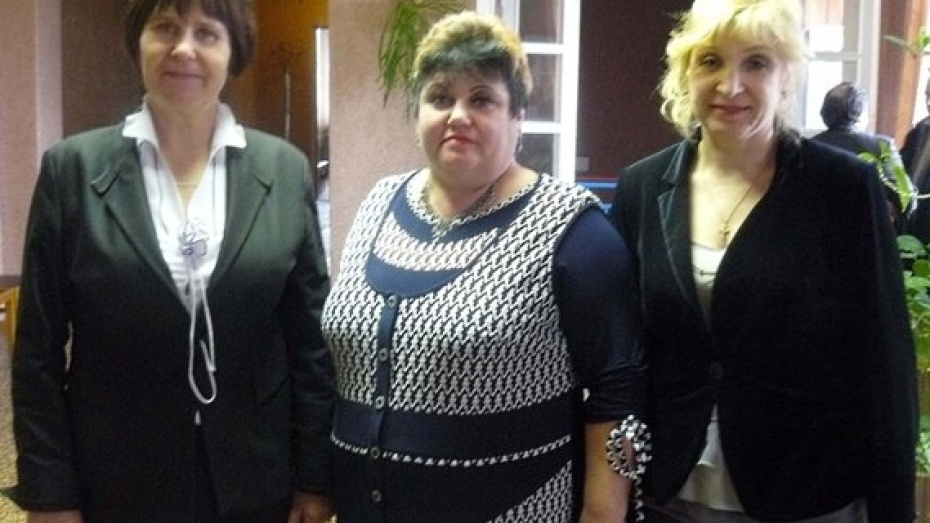 В Репьевском районе лучшие главы сельских поселений – женщины
