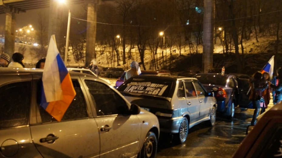 Воронежцев пригласили на автофлешмоб ко Дню защитника Отечества