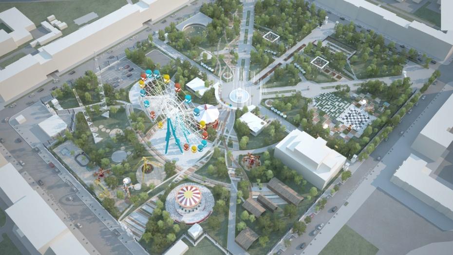 Воронежцев позвали на обсуждение реконструкции площади Победы и парка «Орленок»
