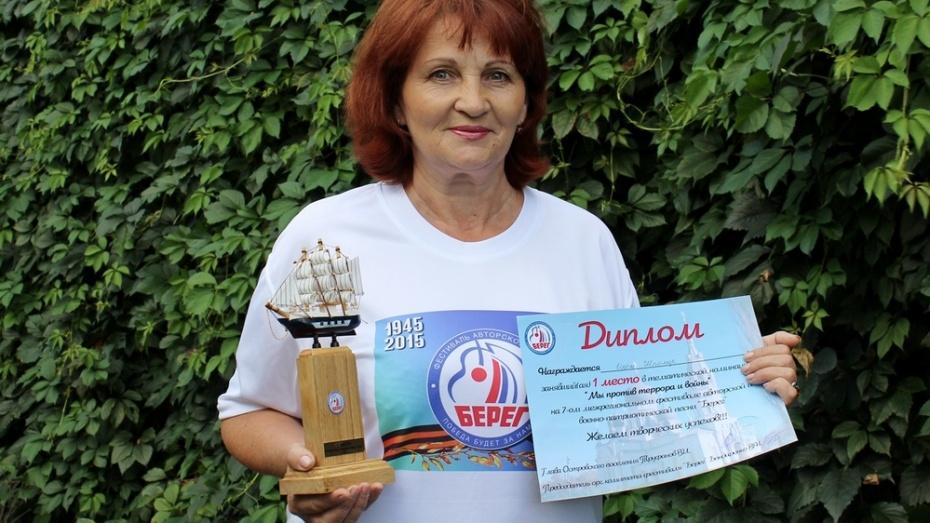 Таловская поэтесса Ольга Шпомер победила на межрегиональном фестивале «Берег»