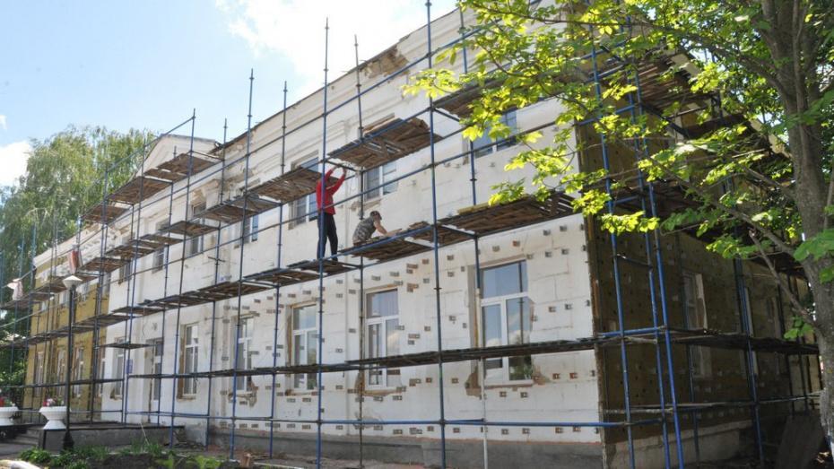 В Эртиле отремонтируют фасад Дома детского творчества