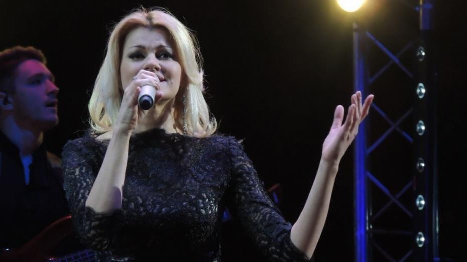 Певица Ирина Круг презентует в Воронеже программу «Снежная королева»