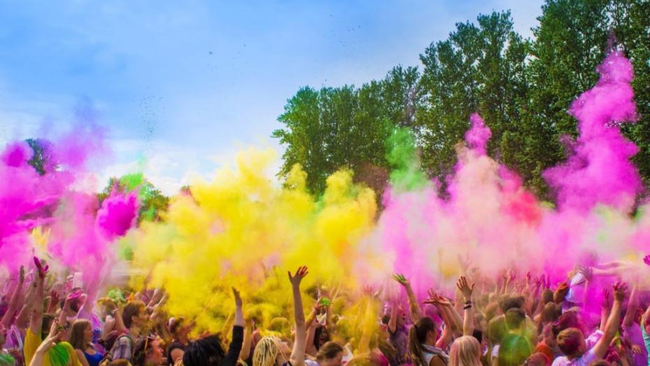 Всероссийский фестиваль красок пройдет в Воронеже 21 и 22 июля
