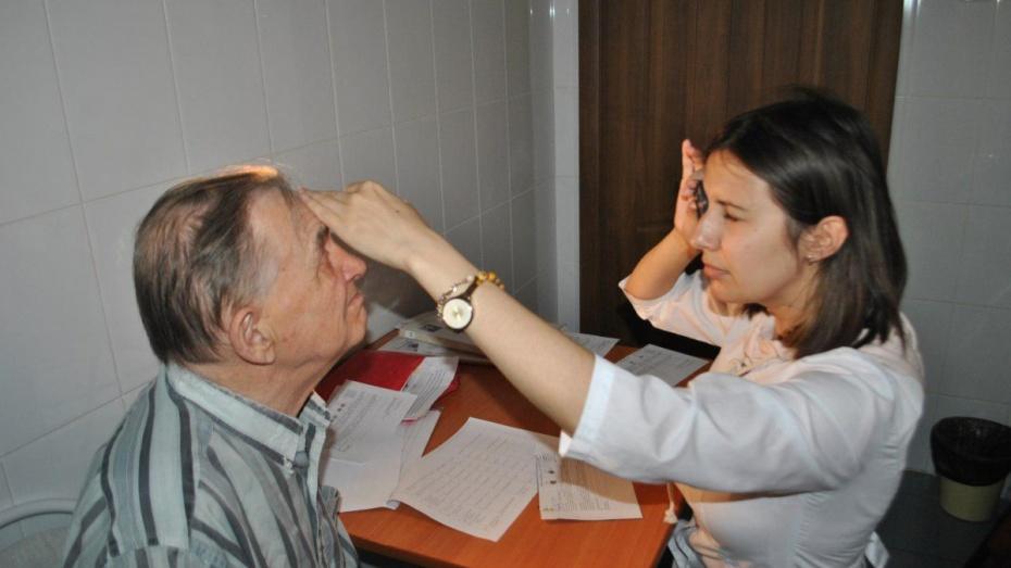 Воронежские врачи провели выездной прием в пансионате «Каширский»