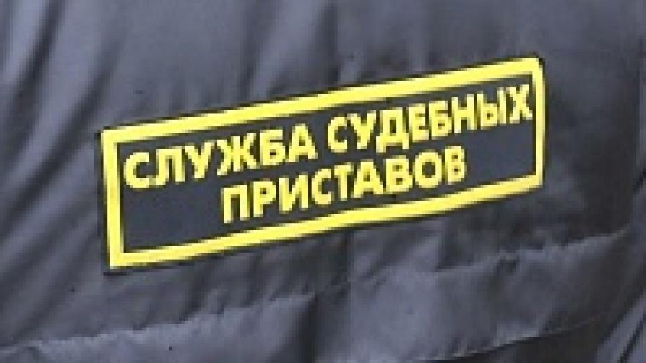 В Бутурлиновском районе пристав наложил арест на склад и участок