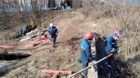 В Воронеже микрорайон остался без света из-за разведенного в костра