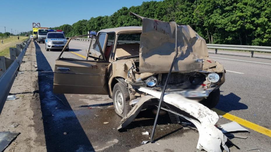 В двойном ДТП в Воронежской области пострадали 7 человек