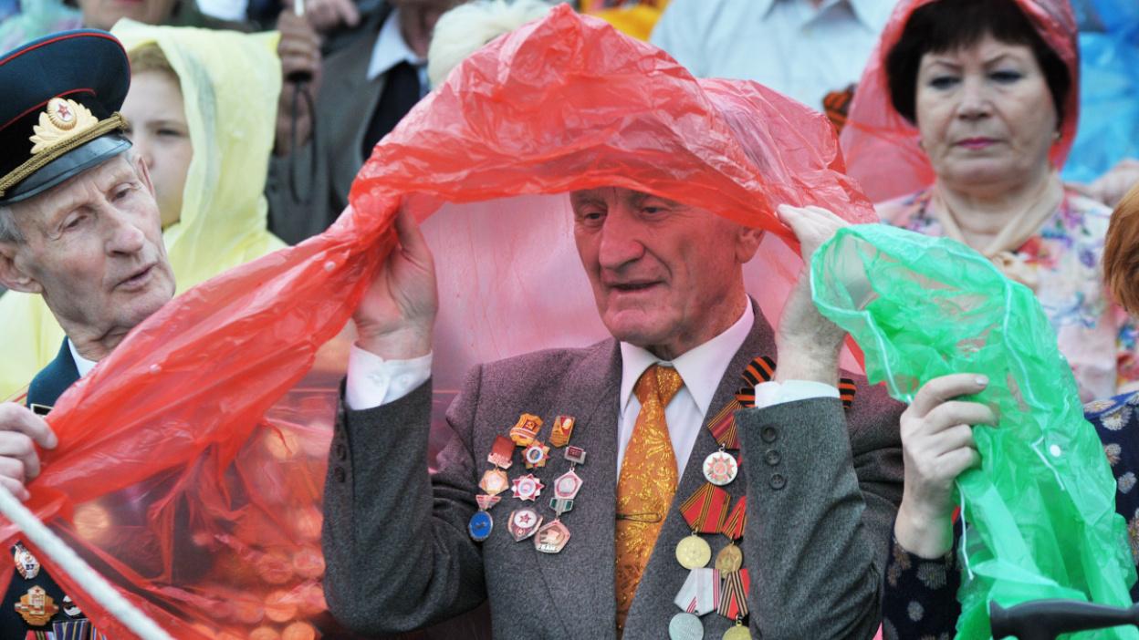 Как в Воронеже прошел парад в честь 74-летия Победы