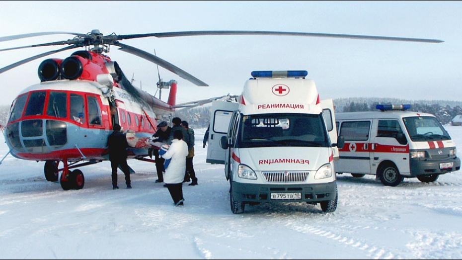 Скорую помощь в Воронежской области будут оказывать на вертолетах