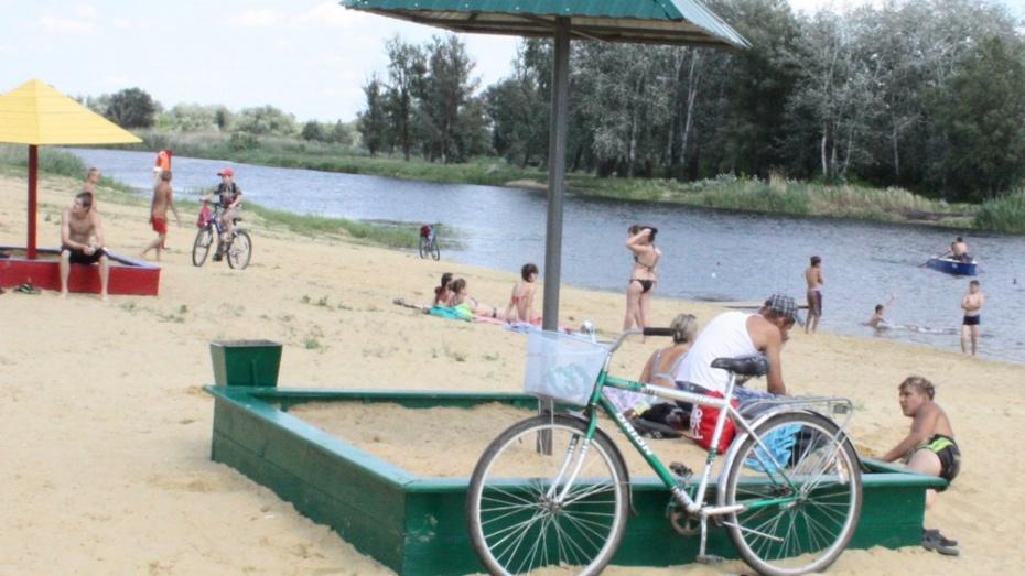 Богучарский городской пляж первым в области прошел сертификацию перед новым купальным сезоном