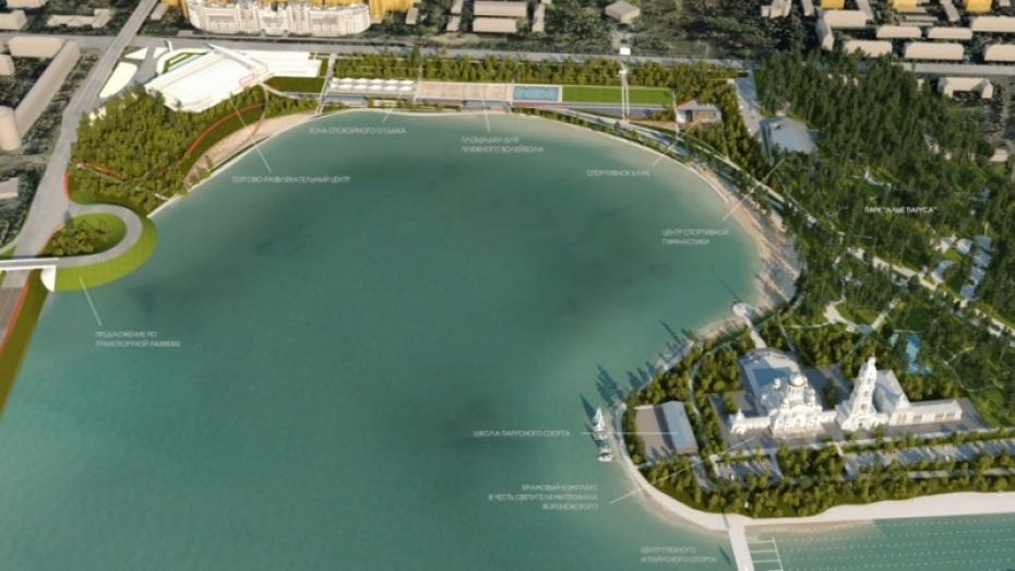 На левом берегу воронежского водохранилища до конца 2020 года построят центр гимнастики для мужчин