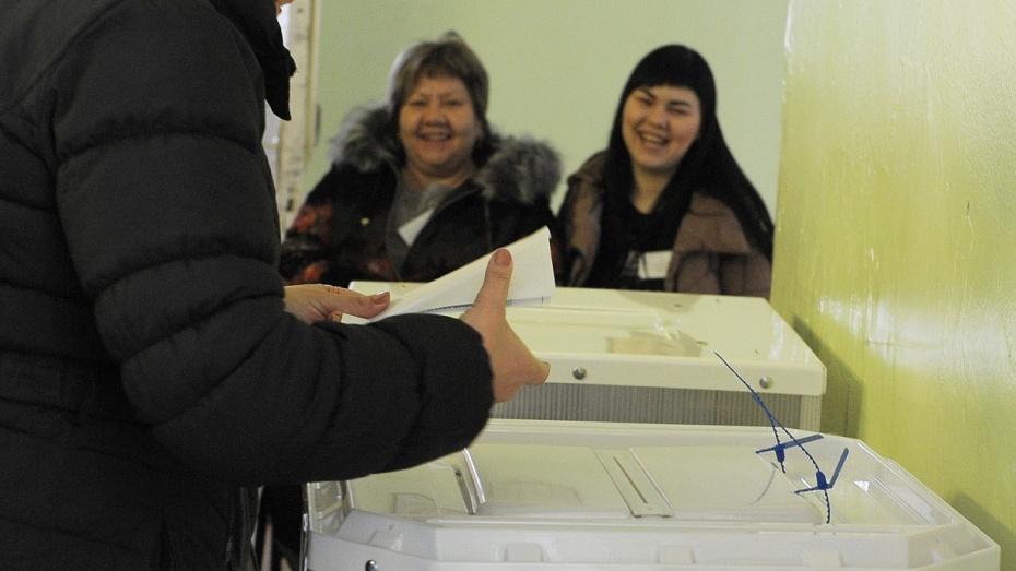 В Воронежской области к 10:00 на выборах президента проголосовали 7,8% избирателей