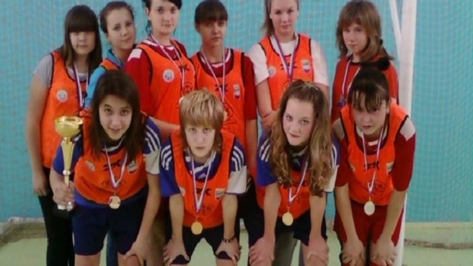 Рамонские футболистки представят воронежскую область на турнире ЦФО
