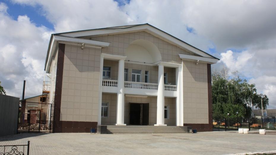 Хохольский дом культуры стал лучшим сельским ДК в Воронежской области