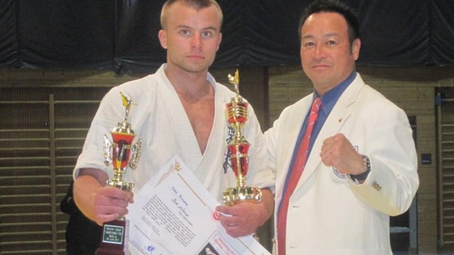 Житель Каширского района вошел в состав сборной России