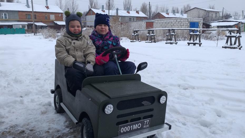 Уроженец Новохоперского района собрал электромобиль