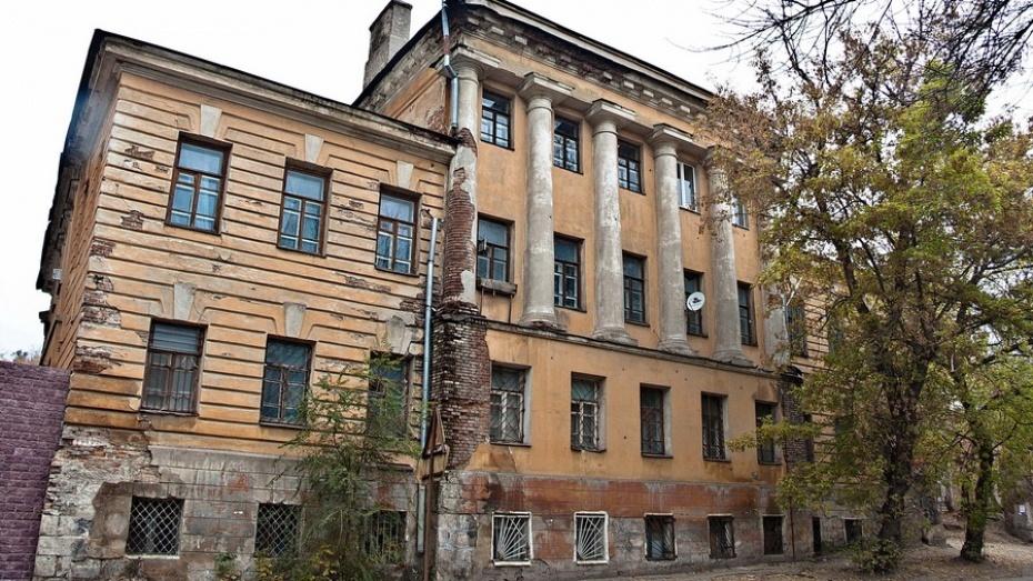 ВВоронежской области отреставрируют Дом кантонистов