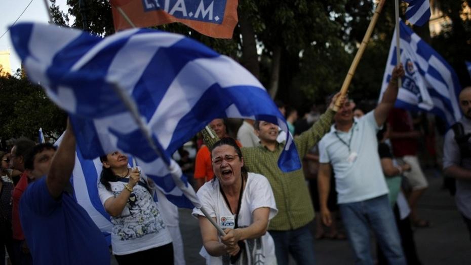 Греки высказались против режима жесткой экономии
