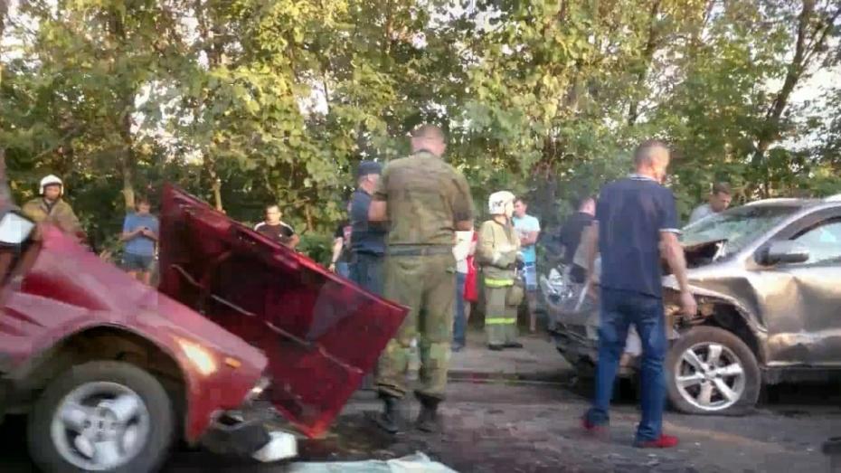 Воронежец разбился на «ВАЗе» по дороге в Шилово