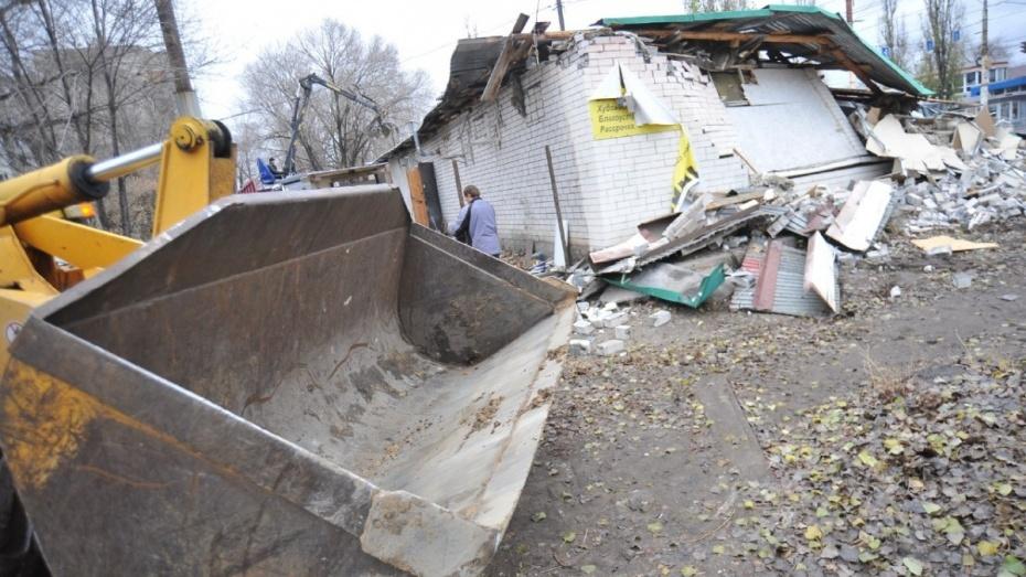 Мэрия Воронежа снесла кафе «Ани» спустя год нелегальной работы