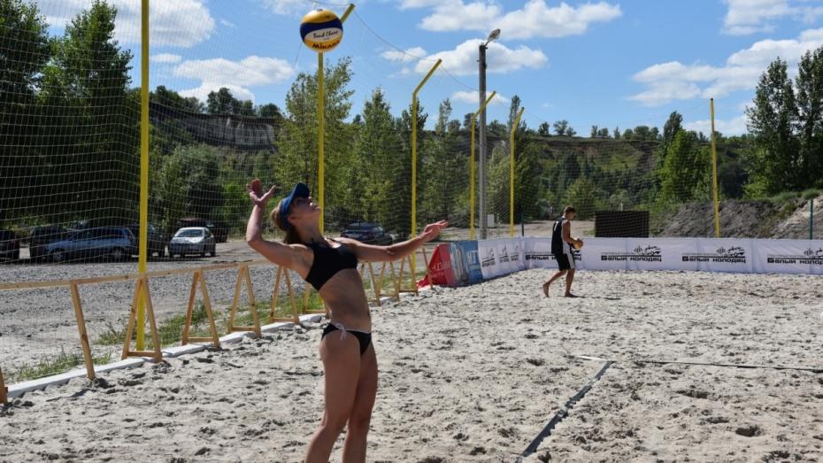 В открытом кубке Воронежской области по пляжному волейболу сыграли 38 команд