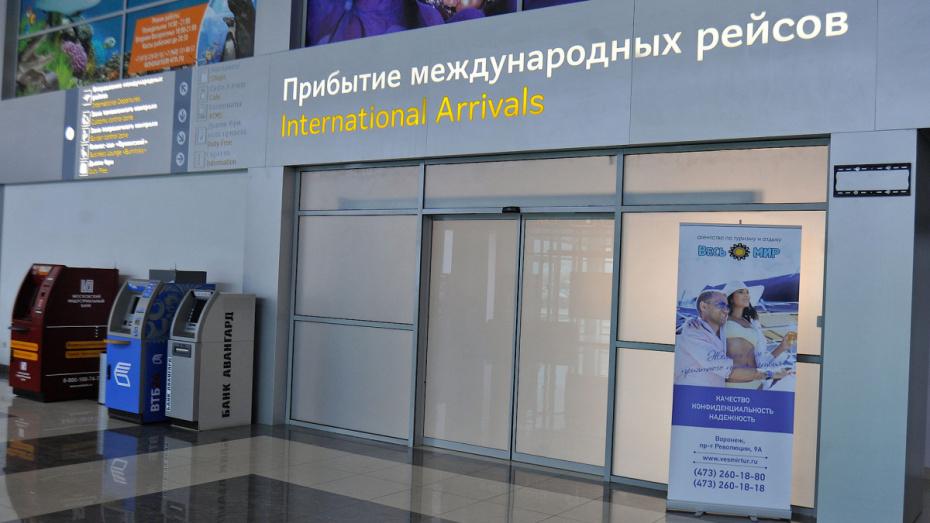 Строительство нового терминала аэропорта Воронеж начнется в 2020 году