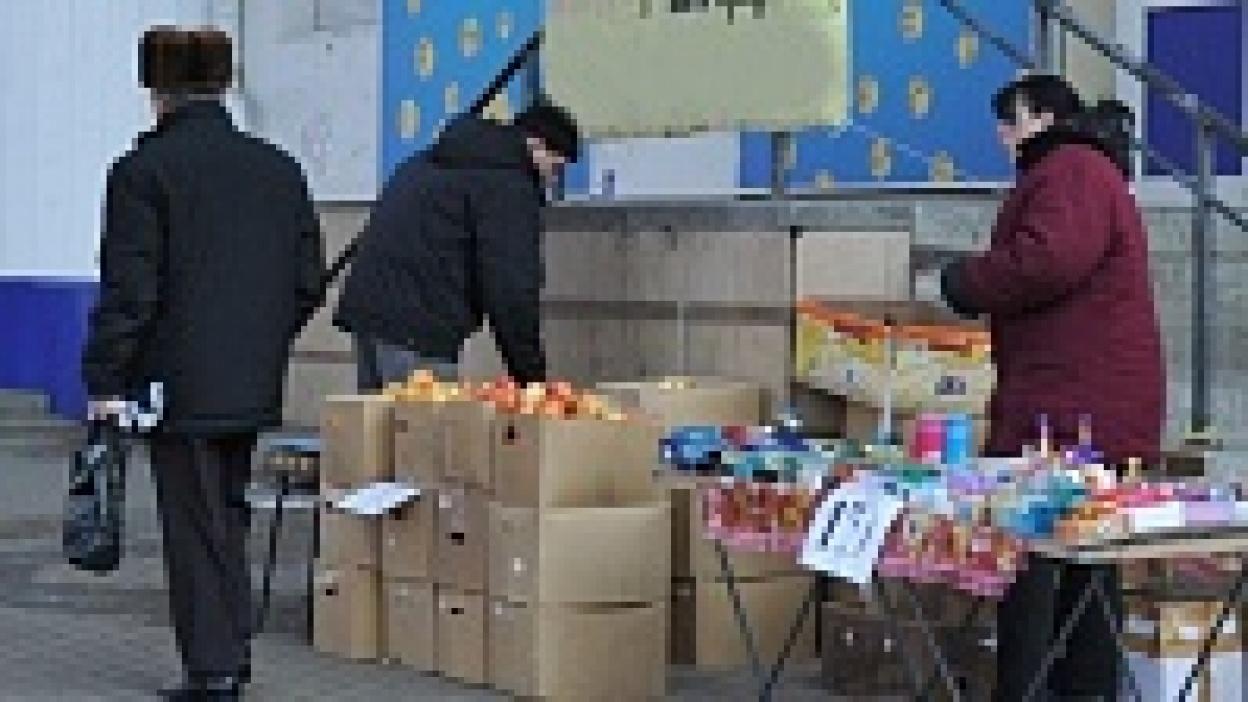 Власти Воронежа выгонят лоточников с улиц