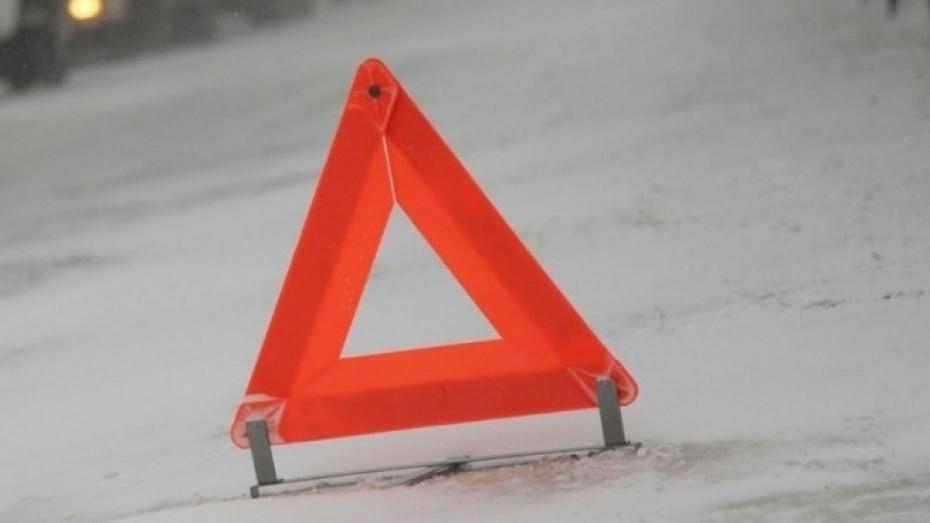 ВВоронежской области натрассе столкнулись три грузового автомобиля: шофёр умер