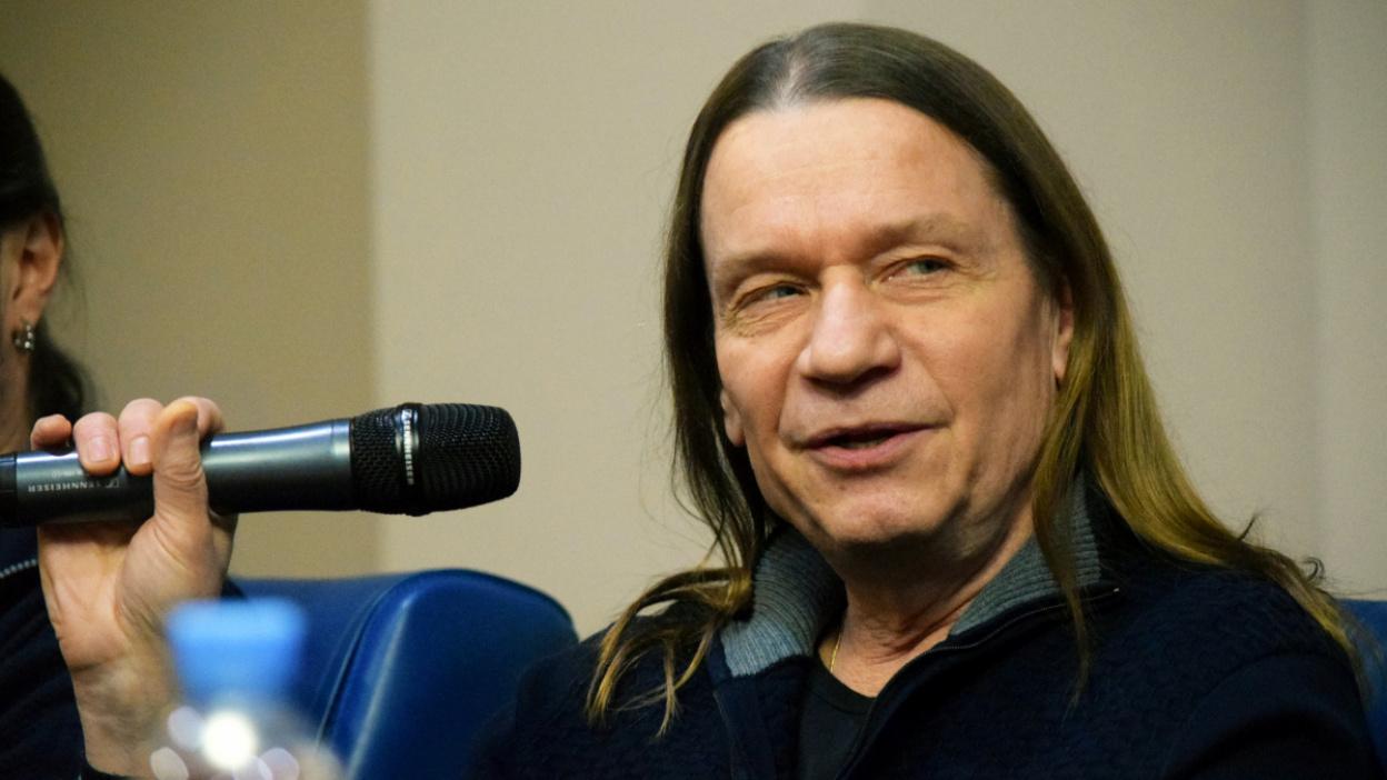Валерий Кипелов в Воронеже: «Разгуляться на пенсию в 16,9 тыс могу, но не пробовал»