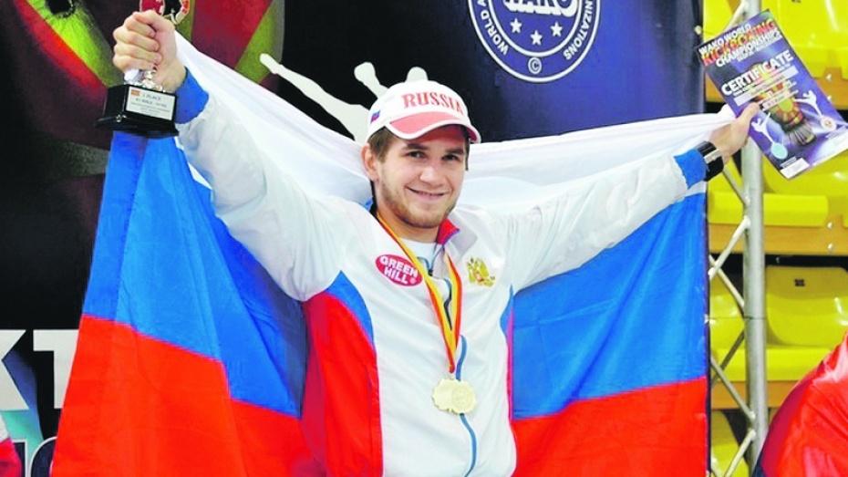 Судебный пристав из Семилук взял серебро на чемпионате Европы по кикбоксингу
