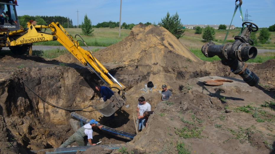 В Верхнем Мамоне запустили резервный водозабор