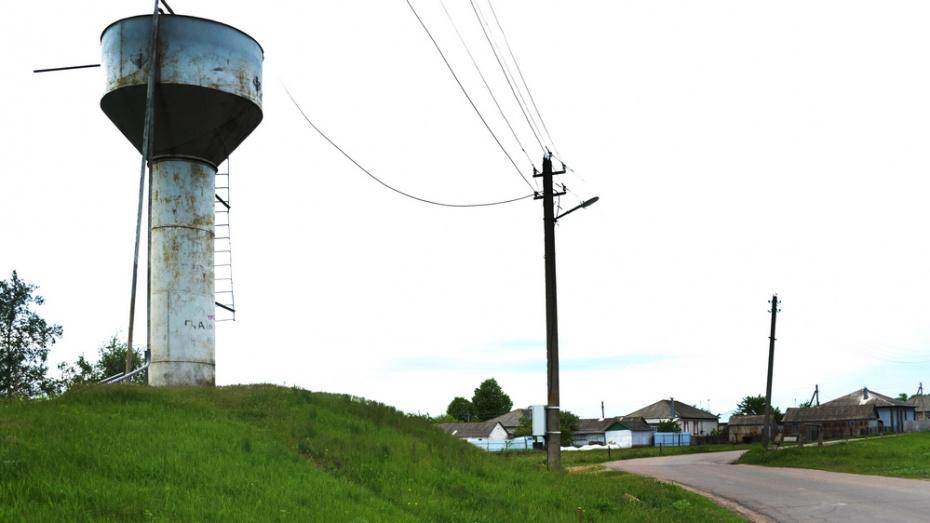 В лискинском селе Высокое установят новую водонапорную башню