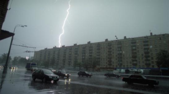 В Воронежскую область придут гроза и сильный ветер