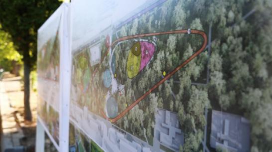 В воронежском парке «Танаис» предложили возвести 2-уровневую велодорожку