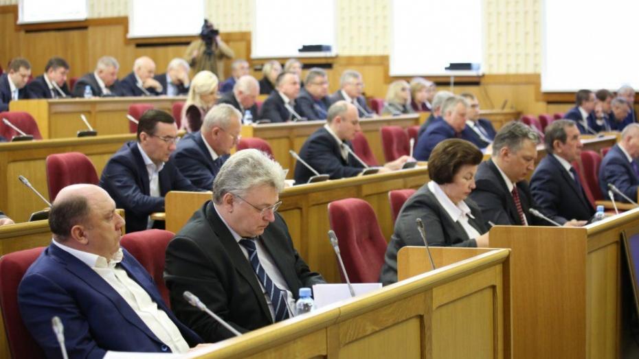 Депутаты Воронежской облдумы скорректировали бюджет региона