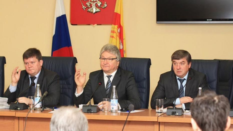 Депутаты гордумы в первом чтении приняли воронежский бюджет на 2013 год