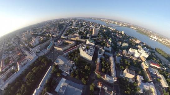 Воздухоплаватели показали фото Воронежа с высоты