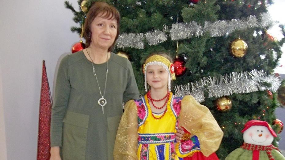 Подгоренская вокалистка стала лауреатом межрегионального конкурса «Зимушка»