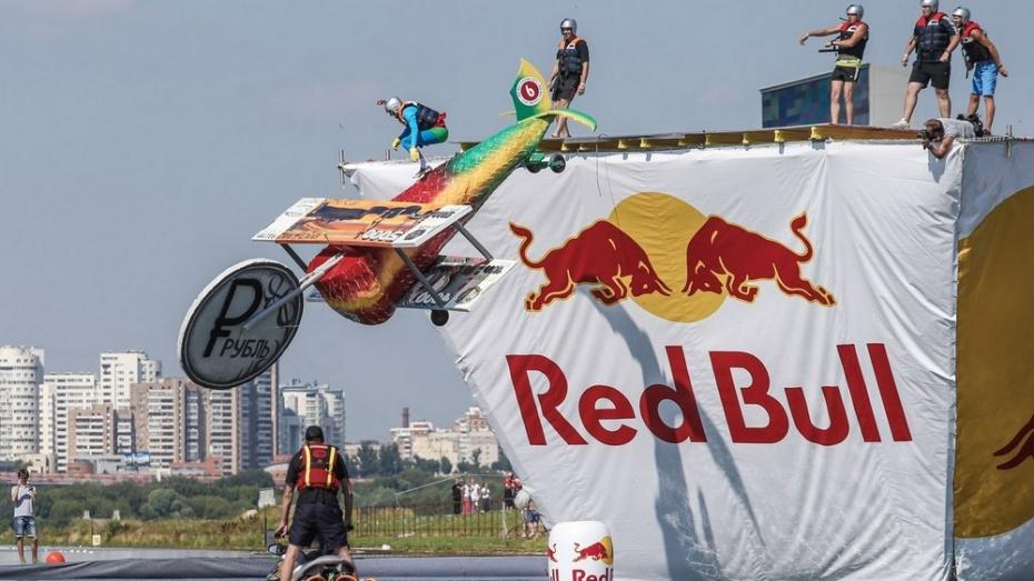 Лискинцы приняли участие в конкурсе самодельных летательных аппаратов Red Bull Flugtag