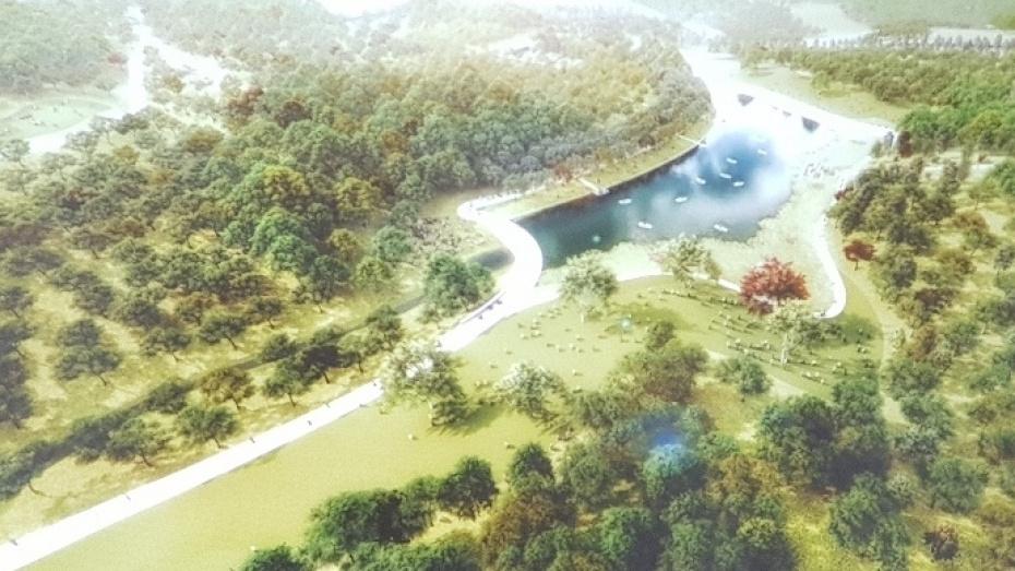 Архитекторы из Голландии предложили затопить часть воронежского Центрального парка