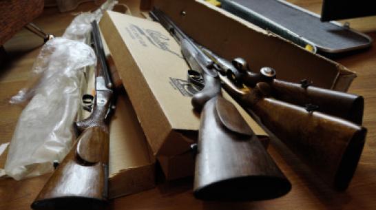 Жителя Таловой осудили за незаконное изготовление  и хранение  огнестрельного оружия
