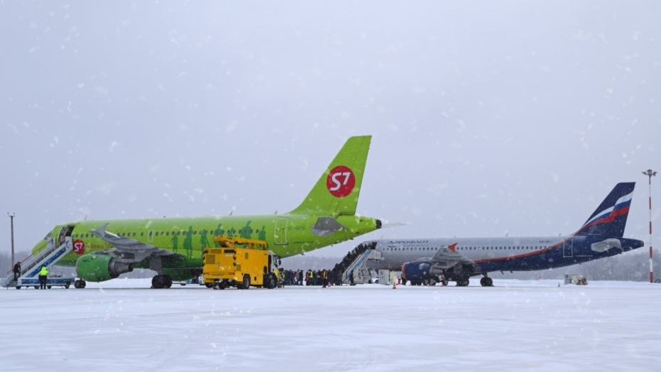 Нижегородский аэропорт принял несколько следующих до столицы самолетов из-за погодных условий