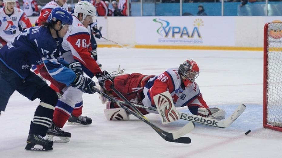 «Буран» уступил ярославскому «Локомотиву» во втором домашнем матче 1/8 финала Кубка Братины