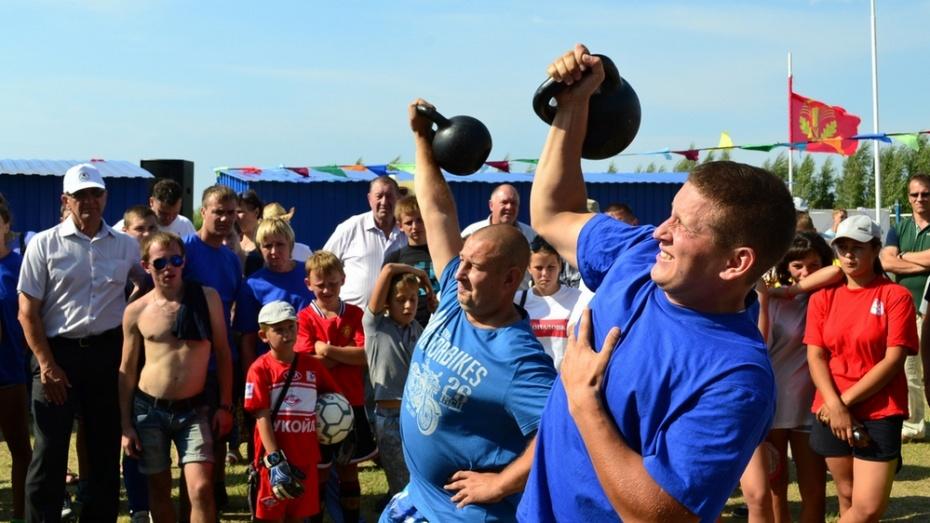 Команда из Грибановки стала лучшей на четвертых районных сельских спортивных играх