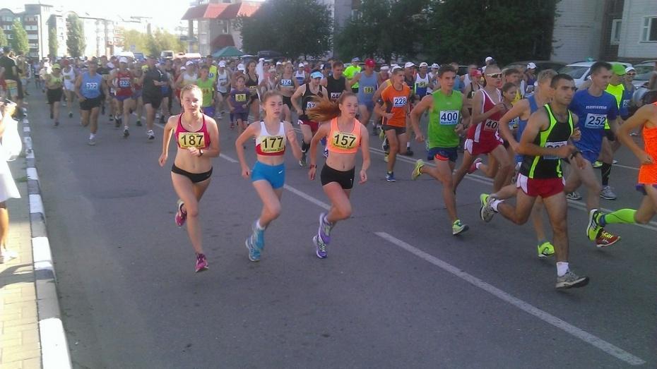 Острогожские легкоатлеты победили в Международном марафоне