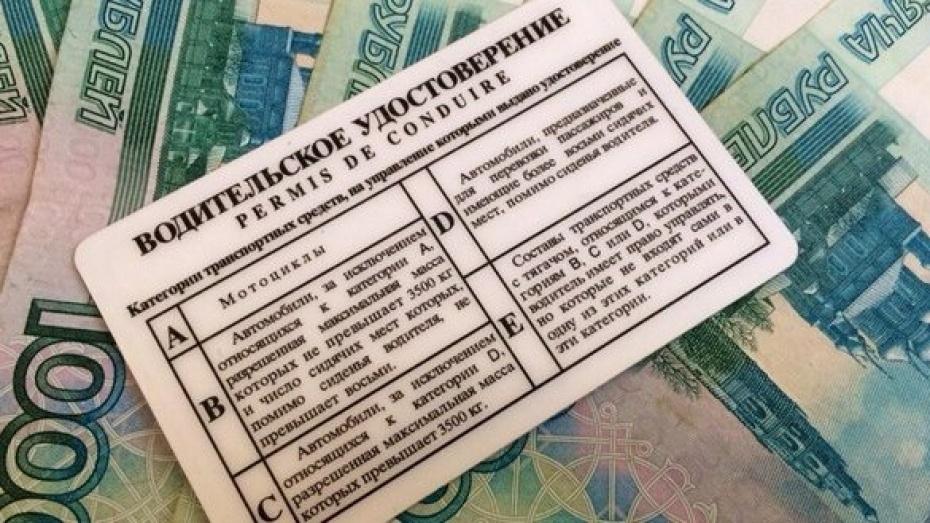 Воронежский ценитель красивых автономеров заплатит штраф в 90 тыс рублей